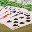 Straight flush — Stock Photo