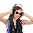 Royalty-Free Stock Photo: Listening to the music