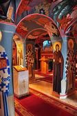 Wnętrze kościoła — Zdjęcie stockowe