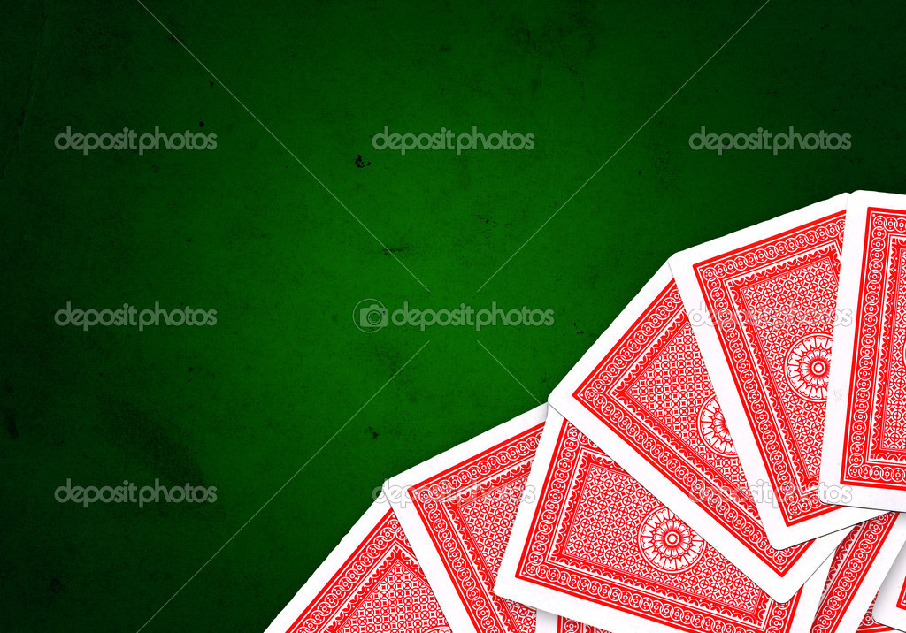 Playing cards over white background — Stock Photo #3614681