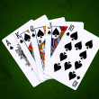 Royal Flush — Stock Photo
