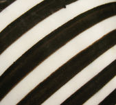 Striped surface of ceramic products. — Stock Photo