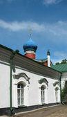 The Pskovo-Pechersky Dormition Monastery — Stock Photo