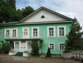 El monasterio de la dormición pskovo-pechersky — Foto de Stock