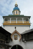The Pskovo-Pechersky Dormition Monastery — Stock Photo