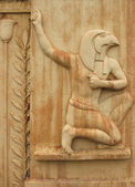 Detail of Egyptian gate in Pushkin — Stock Photo
