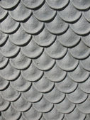 Metal that simulates the scales — Stock Photo