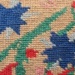 The surface of  embroidery stitch — Stock Photo