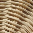 Fragment of a wicker basket. Background. — Stock Photo
