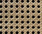 Decorative woven lattice. Background — Стоковое фото