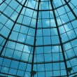 Glass dome of a modern building — Stock Photo