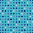 Seamless Dots Background - Stock Vector