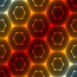 Abstract Hexagonal Background - ベクター素材ストック