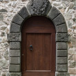 Old stone doorway - Stock Photo