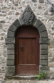 Old stone doorway — Stock Photo