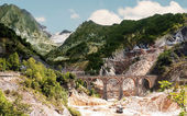 Destination Italy - Ponti di Vara, Carrara — Stock Photo