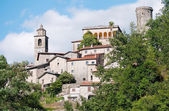 Scenic Italy - Tuscan town (Bagnone) — Stock Photo