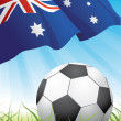 Royalty-Free Stock Vector Image: World soccer championship  - Australia