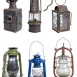 Old gasoline lamps - Stock Photo