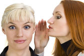 Woman's gossips — Stock Photo