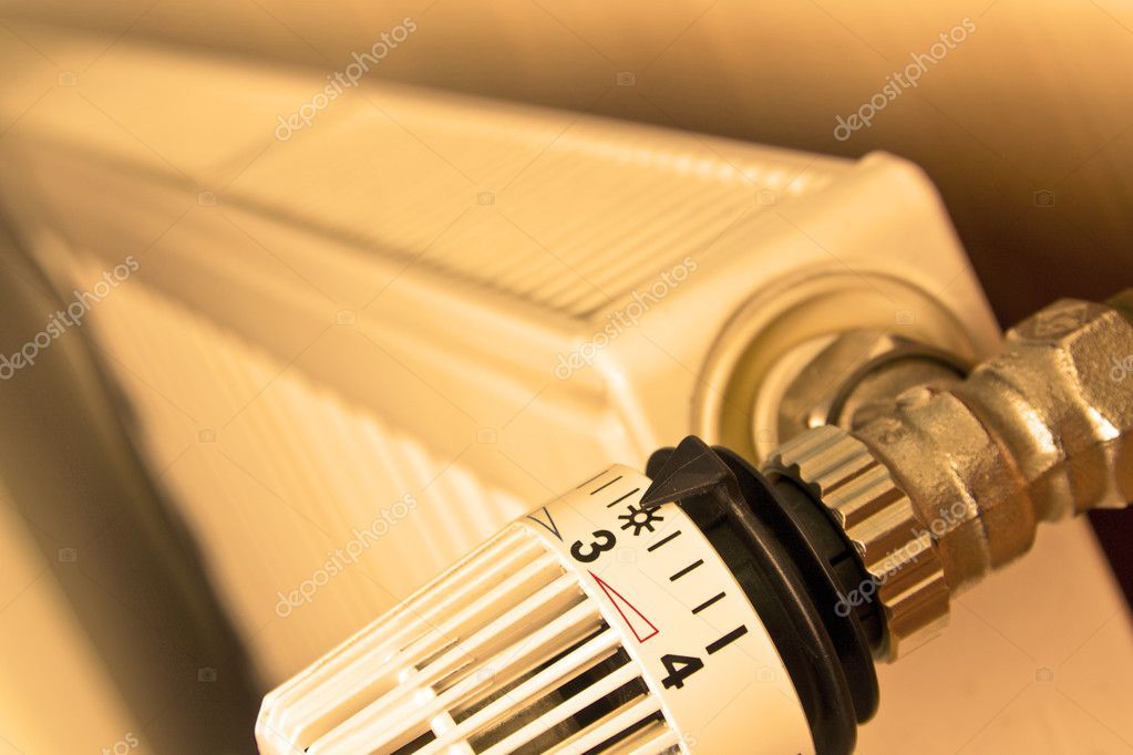 Radiator thermostat — Stock Photo #2752453