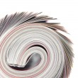 Rolled up magazine — Stock Photo #2997504