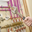 Servicing heating and water systems - ストック写真