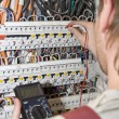Electrician at work — Stock Photo #3061448