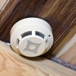 Stock Photo: Smoke detector