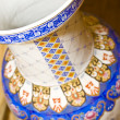 Antique chinese vase - Stock Photo