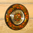Traditional russian wall clock - Foto Stock