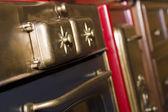 Retro bronze stove — ストック写真