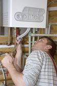 Technician at work — Stock Photo