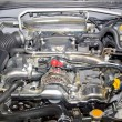 Stock Photo: Sport car powerful motor