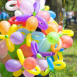 Stock Photo: Balloon seller