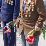 World War II veterans — Stock Photo