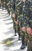 Russian army — Stock Photo