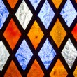 Stained glass background — Foto de Stock