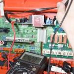 Electronics. Engineer at work — Stock Photo