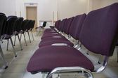 Row of seats — Stock Photo