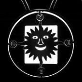 Silueta de brújula de sol — Foto de Stock