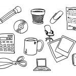 Office stuff — Stock Photo