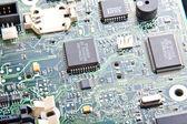 Bilgisayar anakart parçaları — Stok fotoğraf