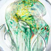 Vloeibare glas abstracte achtergrond — Stockfoto