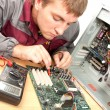 Computer support engineer — Stock Photo #3605698