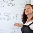 Mathematics teacher — Stock Photo #3694758