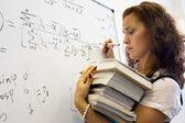 Schwere mathematik wissenschaft — Stockfoto