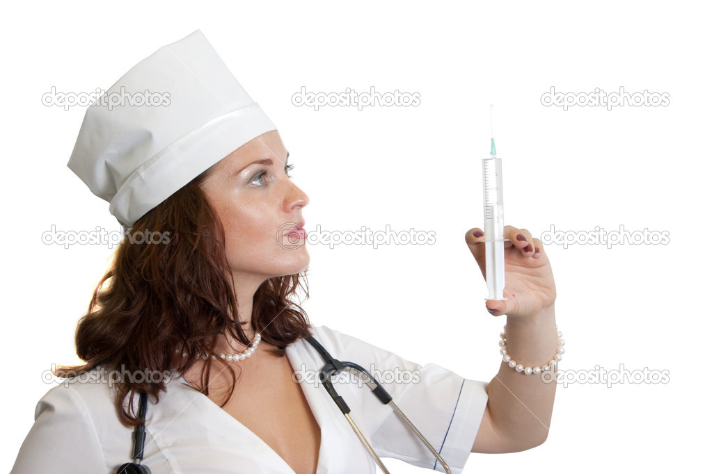 Medical procedure at the doctor  Stock Photo #3694986