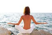 Meditace — Stock fotografie