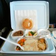 Classic airplane food - Stock Photo